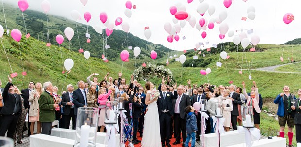 Destination-Wedding - Exklusivität - Tiroler Oberland - arlberg1800 RESORT