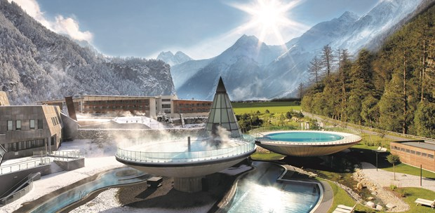 Destination-Wedding - Tiroler Oberland - AQUA DOME - Tirol Therme Längenfeld